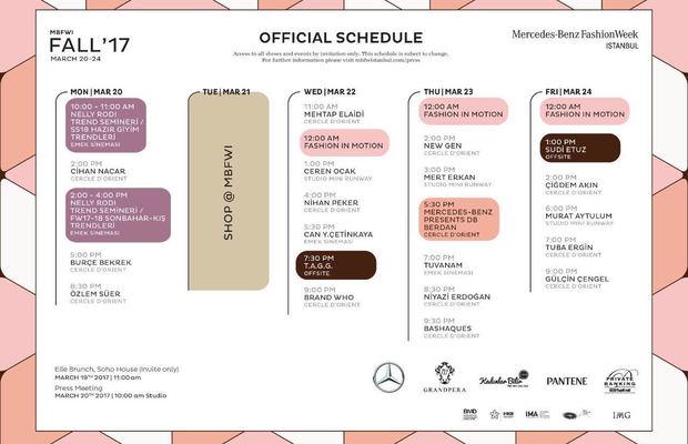 2017 Fashion Week Istanbul tarihleri açıklandı!