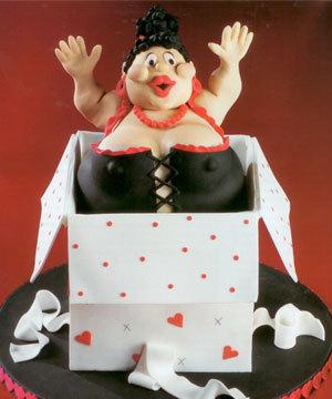 Bekarlığa veda edenlere spesiyal pastalar!
