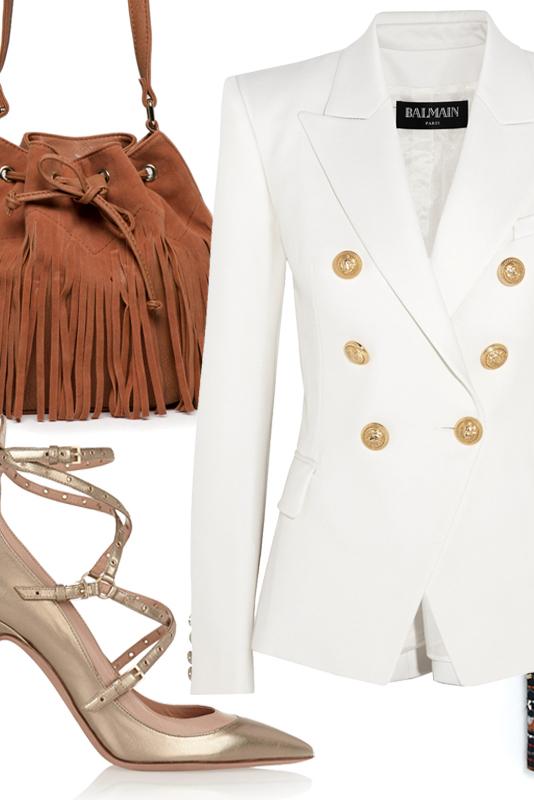 Chiara Ferragini'nin Blazer Ceket Modelleri