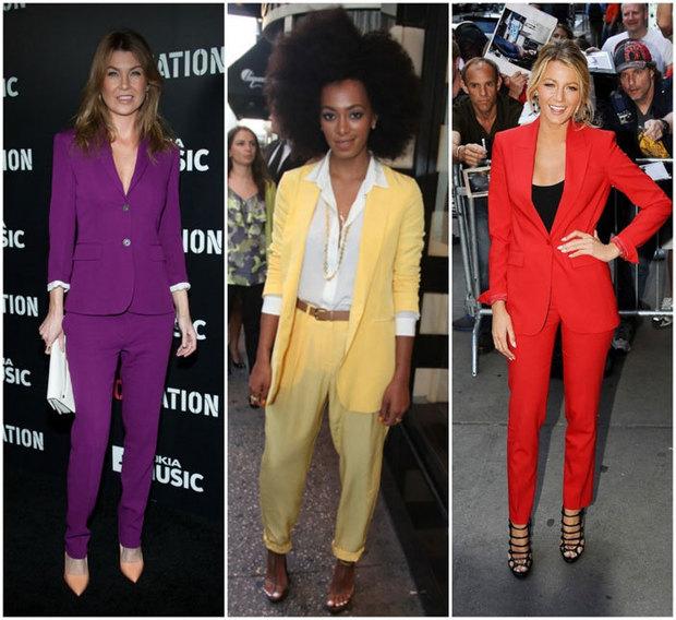 Işe giderken giyeceğiniz 10 renkli takım