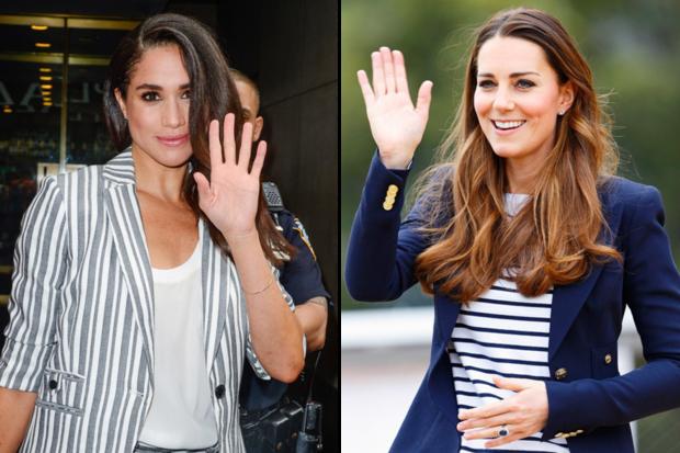 Kate Middleton ve Meghan Markle'ın stil benzerliği