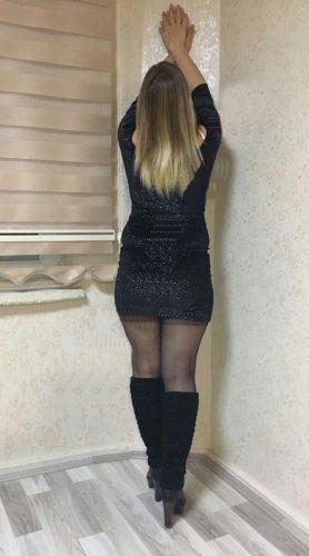 Seksi evinde buluşan hanım Ayşe
