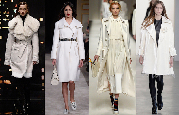 Trend Alarmı: Beyaz paltolar