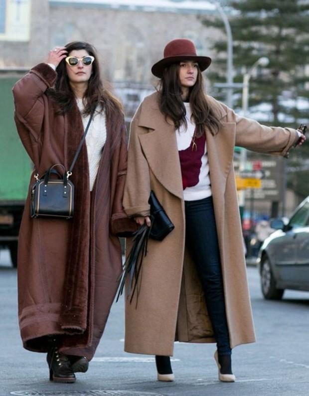Uzun palto modelleri