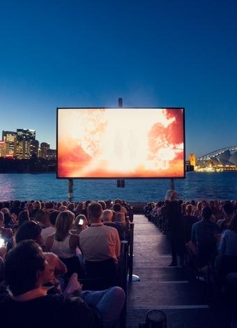Yıldızların altında film  hezzi nedeniyle açık hava sinemaları